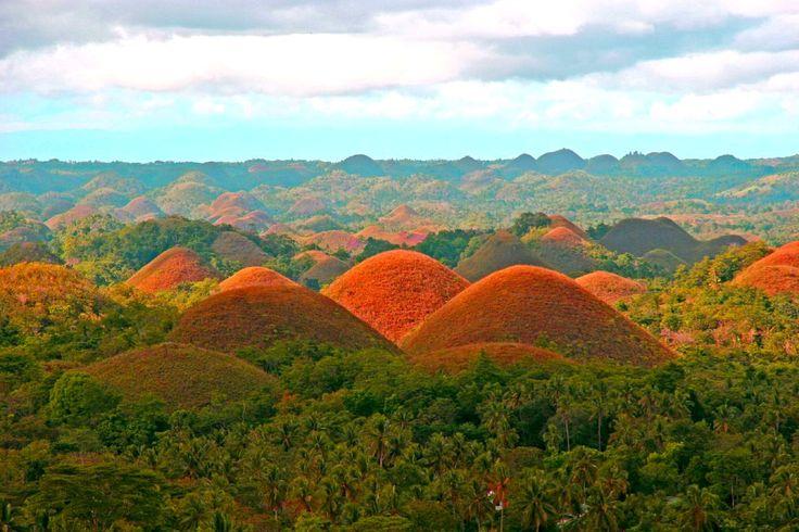 Les collines de chocolat I #Philippines I