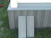 How To Build Deck Skirting To Hide Space Under A Deck