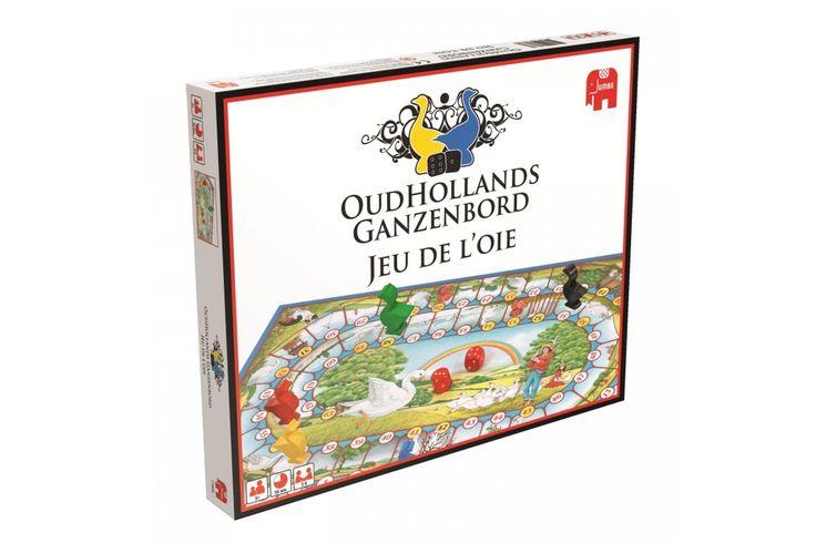 Oudhollands ganzenbord van Jumbo bestel je bij Cadeau.nl