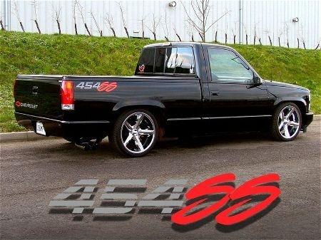 1992 454ss Custom Wheels Amp Drop Pickup Trucks