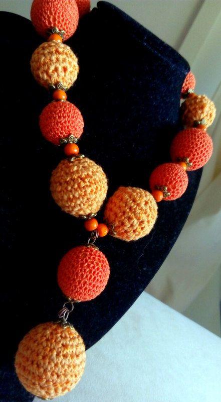Crochet collier collier crochet fait main collier de par MiMaries