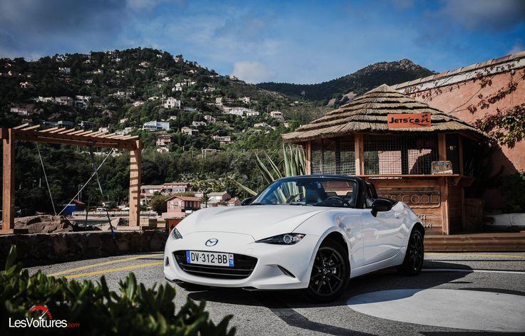 """Cars - Mazda MX-5 : le """"funtastique"""" roadster à l'essai ! - http://lesvoitures.fr/mazda-mx-5-2015-nd-essai-test-drive-roadster/"""