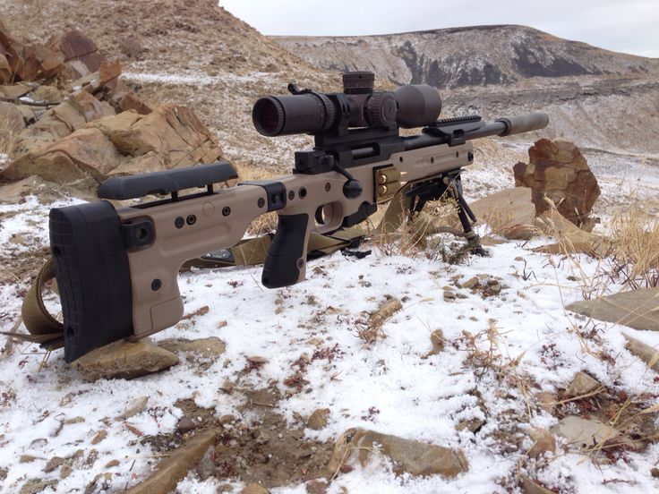 Accuracy International AT Sniper Rifle in 308. | Sniper ...