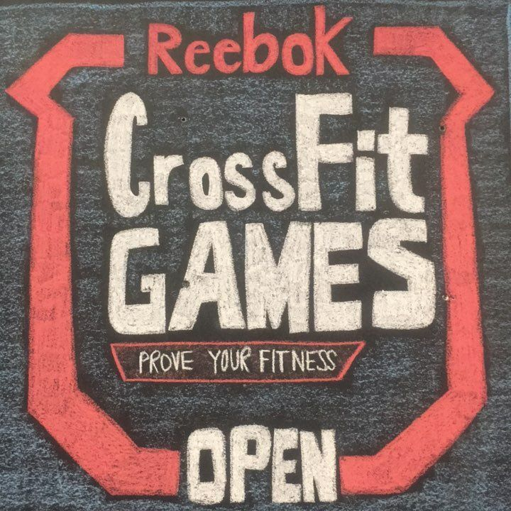 Are you ready? @crossfitgames @crossfit  #signuptoday #chalkgraffiti  #windsorcrossfit #getintheopen  #unknownandunknowable  #onlymakesyoubetter #WCF #YQG  Great chalk work by our very own @cy170729