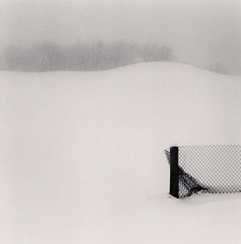 Fence in Snow, Minnozo, Emilia Romagna, Italy, 2007