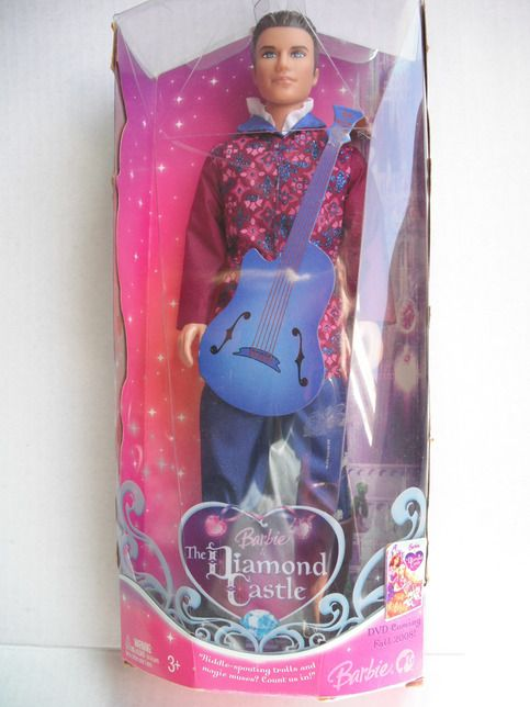 Barbie & The Diamond Castle Prince Ken doll is a great addition to you collection. Makes a great gift for the little special one. Thank you so much for visiting my store.