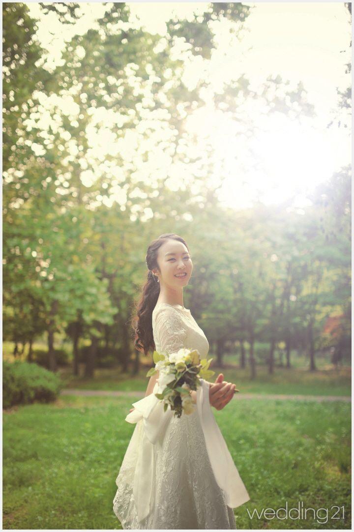 [웨딩플라워] ① 셀프웨딩, 로맨틱 부케 & 부토니에 DIY