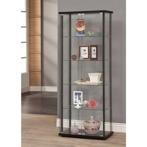 Coaster Company Glass Curio Cabinet #furniturecollection