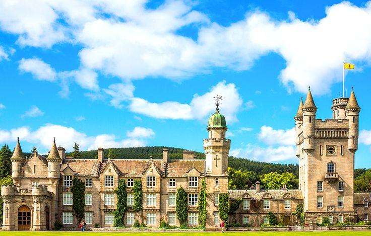 Balmoral Castle i Skottland #balmoral #castle #balmoralcastle #skottland #scotland #slott