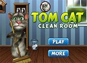 Talking Tom Cat Clean Room | Juegos Littlest Pet Shop - jugar LPS online mascotas