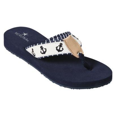 Nautical ⚓ Flip flops!