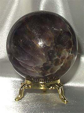 black amethyst sphere