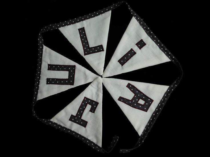 Guirlande tissu http://madeinedelfashion.wordpress.com/ https://www.facebook.com/pages/MadeInEdel/165782523444229