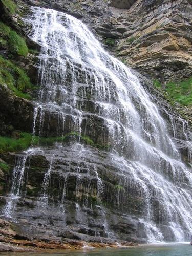 Ordesa, Cascada Cola de Caballo. Torla, Spain Ordesa y Monte Perdido National Park