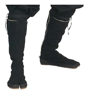 Black Ninja Tabi Boots For Sale | All Ninja Gear: Largest Selection of Ninja Weapons | Throwing Stars | Nunchucks