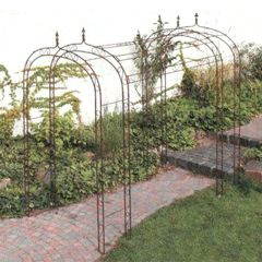 Wrought Iron Pergola
