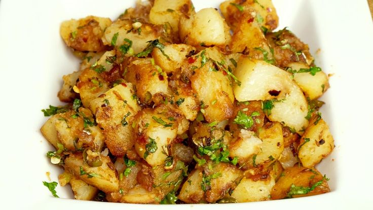 how to cook indian fried potato