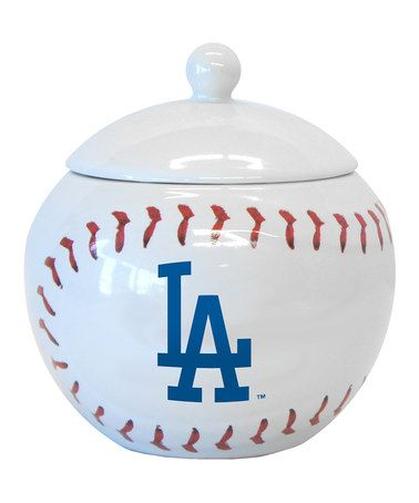 Take a look at this Los Angeles Dodgers 14-oz. Candy Jar by Boelter Brands on #zulily today!