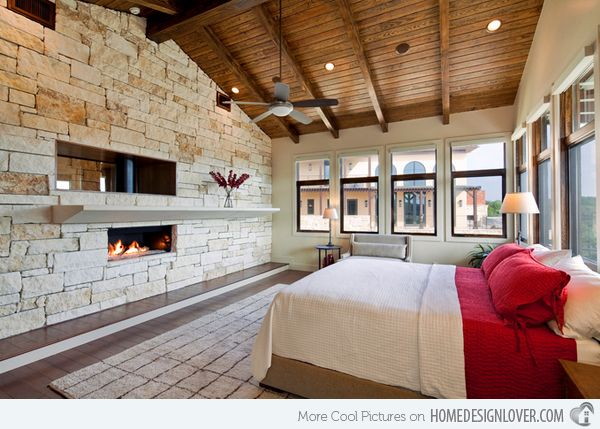 15 Charismatic Sloped Ceiling Bedrooms Home Design Lover
