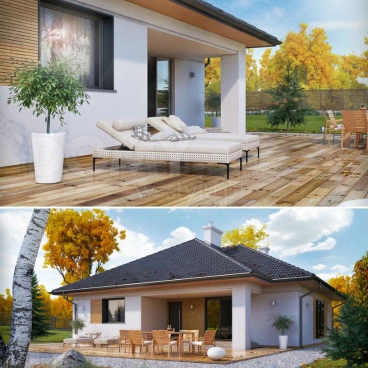Projekt domu DEDAL (115 m2). Pełna prezentacja projektu dostępna jest na stronie: https://www.domywstylu.pl/projekt-domu-dedal.php #dedal #domywstylu #mtmstyl #projekty #projektygotowe #dom #domy #projekt #budowadomu #budujemydom #design #newdesign #home #houses #architektura #architecture