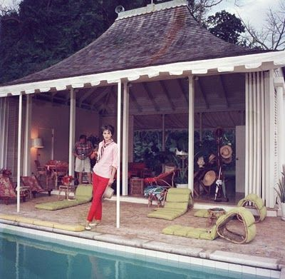 Babe Paley, Round Hill Villa, photographed by Slim Aarons
