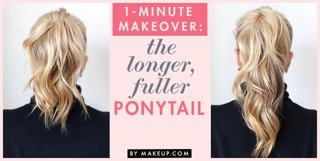 "<img class=""aligncenter size-full wp-image-1809515"" title=""the_longer_fuller_ponytail "" src=""/wp-content/uploads/2013/10/the_longer_fuller_ponytail-cr.jpg"" alt=""two ponytail trick"" width=""645"" height=""324""> <br> Ponytails are like jeans: classic, eff..."
