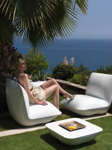 PILLOW Lounge Chair Stefano Giovannoni For VONDOM