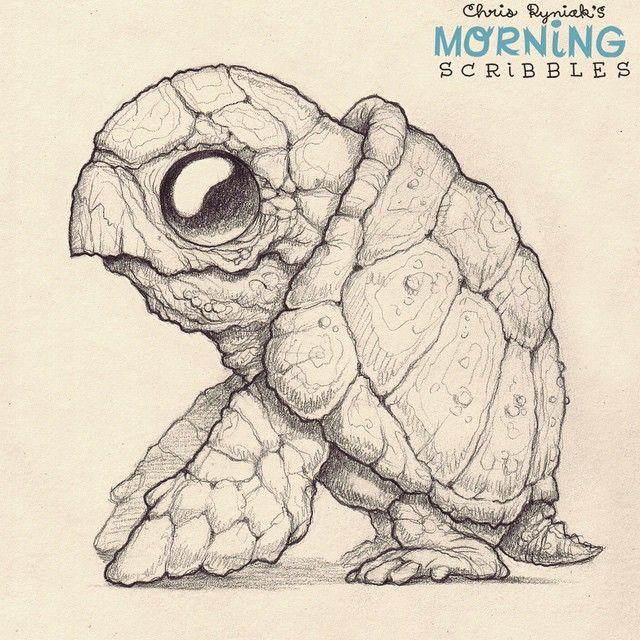 I like turtles  #morningscribbles