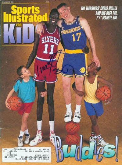 Manute Bol , tallest NBA player !