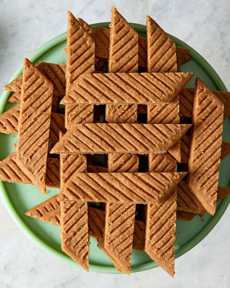 Swedish Spice Cookies Recipe | Martha Stewart Living — Also known as nutmeg slices, these easy-to-make cookies boast two more warming spices -- cinnamon and ginger -- and are just the thing for a coffee break.