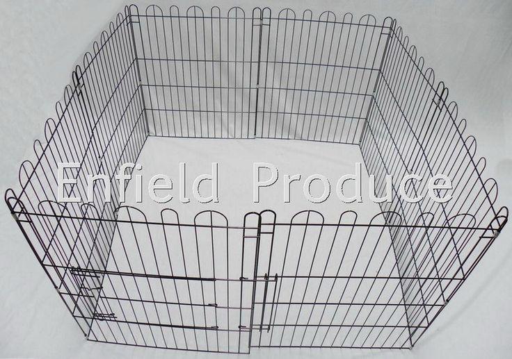 Enfield Produce : Pet & Garden Supplies - Small Dog Pens - Purple