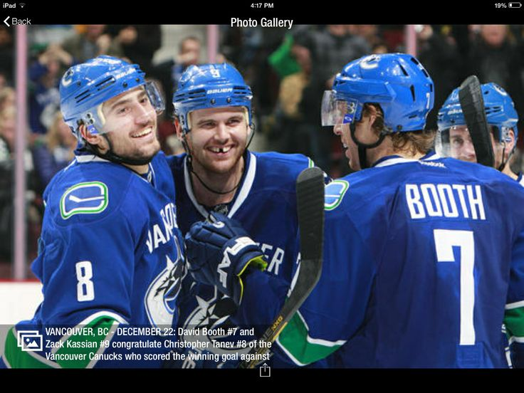 Chris Tanev scores the winning goal!! He is after all an amazing hockey player and adorable guy ;)