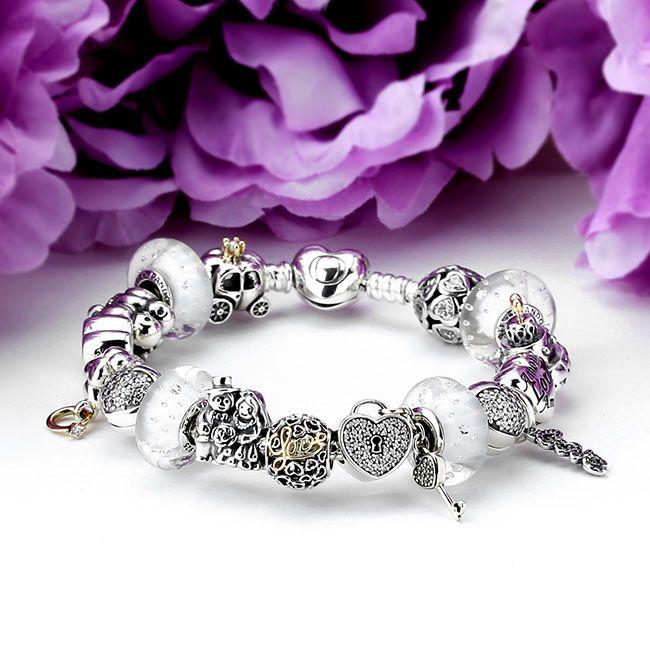 PANDORA Tie The Knot Charm Bracelet