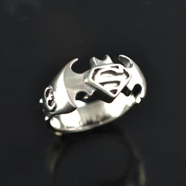 custom made superman batman avengers star wars x men ring - Weird Wedding Rings