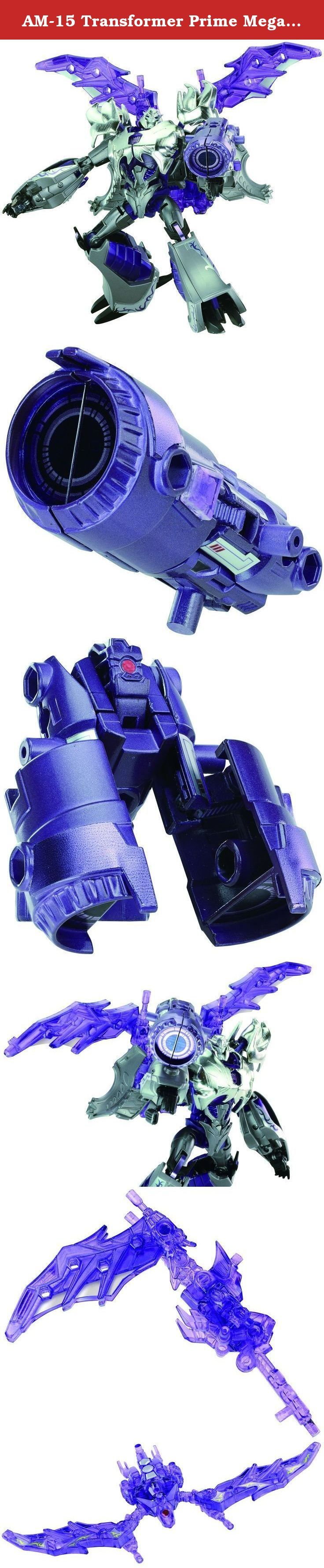 AM-15 Transformer Prime Megatron Darkness (Completed) Tomy [JAPAN]. Power up your Transformers collection with the awesome Transformers AM-15 Megatron Darkness Action Figure. Look for the Jet Vehicon figure too for the perfect duo.