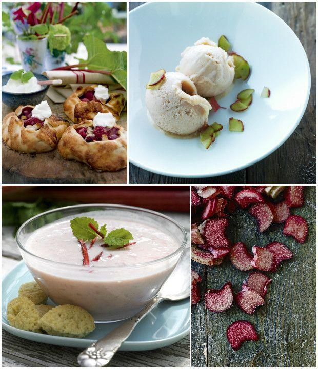 Rabarber er en ægte forårsbebuder og den karakteristiske, syrlige smag er god til rigtig mange ting. Prøv den i kager, grød, sorbet, koldskål, marmelade eller til ovnstegt kylling.
