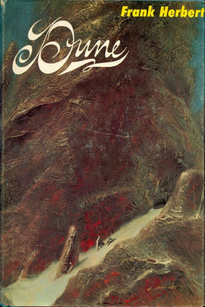 The first edition cover of Dune. | Dune book, Dune novel, Dune ...