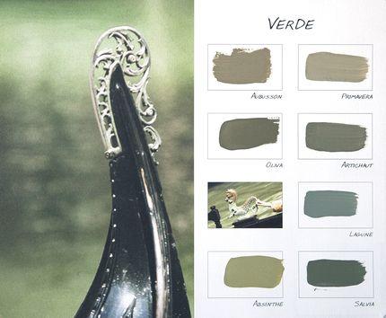 "Carte Colori kleurenkaart ""Verde"" http://www.paint-and-decorations.nl/Webwinkel-Category-5507569/Carte-Colori-Kalkverf.html"