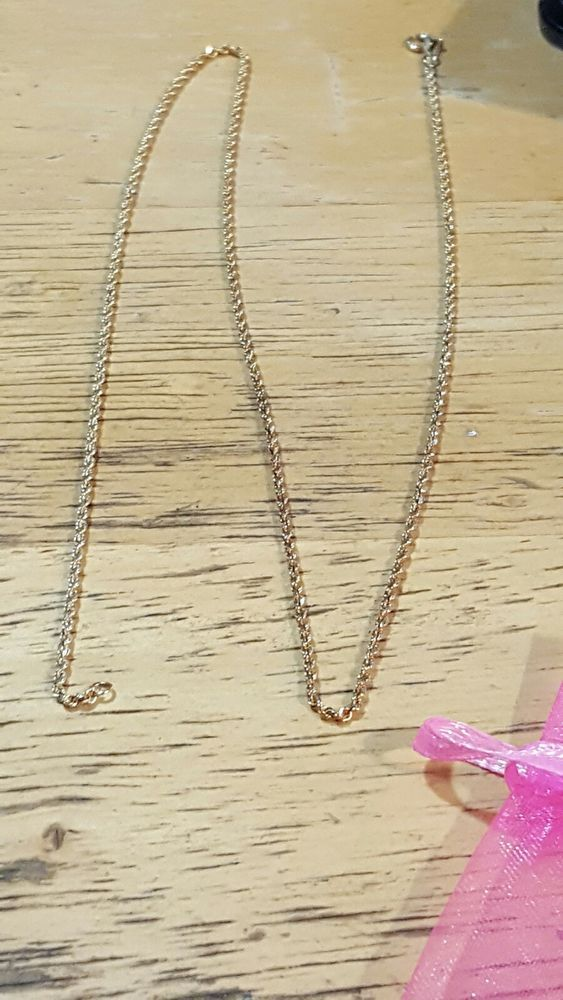 10k Solid Yellow Gold Rope Chain Necklace Micheal Anthony 17 3 56 Grams Michaelanthony Chain With Images Gold Rope Chains Necklace
