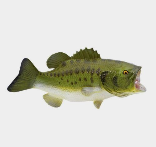 LARGEMOUTH-BASS-Replica-Scale-1-4-265629-FREE-SHIP-USA-w-25-SAFARI-Product