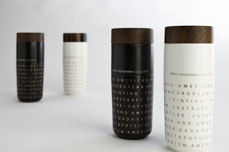 Peggy Guggenheim Special Edition by Hangar Design Group. Inspired by the 20th century avantgardes. #travelmug #design #hangardesigngroup #innovation