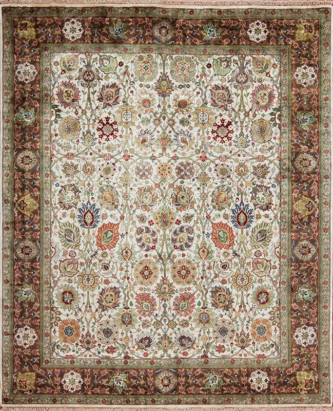 Lovely Decorative Traditional Design Golden Age Collection Arcadia Samad Rugs Handmade Carpets
