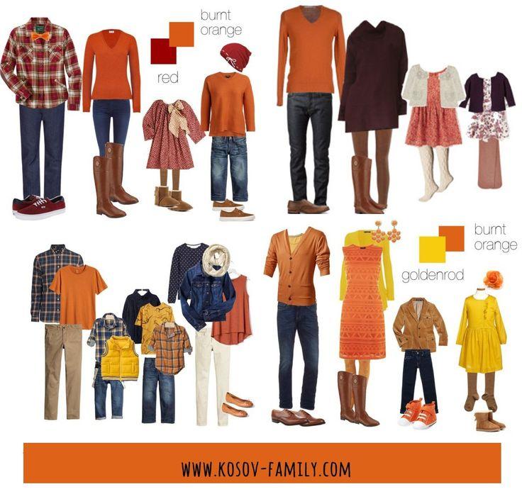 палитра одежды в 2020 г | Одежда для всей семьи, Семейные ...