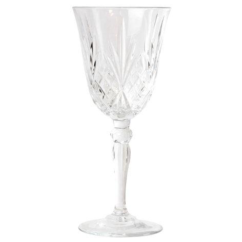 Vinglass MELODIA 27 cl. 6-pk.. Vinglass som rommer 27cl. Det finnes flere glass i samme serie.Selges bare i 6-pk., stykkpris i butikk er 69,–