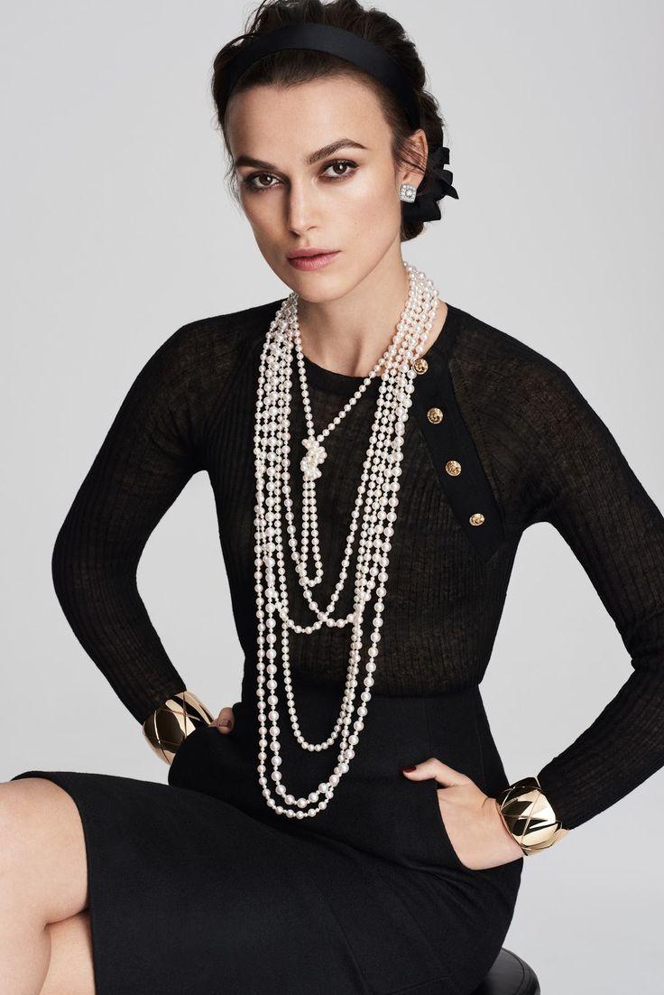 Keira Knightley by Mario Testino for Chanel Coco Crush 2016