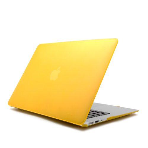 """CARCASA MACBOOK AIR 13 PULGADAS AMARILLA 18,18 €  Carcasa para Macbook Air 13 Pulgadas para decorar tu Mac con elegantes colores, bañada con un barniz que le proporciona un agradable tacto suave. Ligera y resistente apenas incrementa el peso de tu Mac. Diseñada para quedar totalmente integrada en tu Mac seguirás teniendo acceso a todos tus puertos sin necesidad de retirarla. Se adapta perfectamente a tu Macbook de 13 Pulgadas. Compatible con MacBook Air de 13""""."""