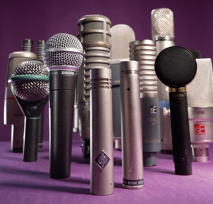 A Guide To Choosing & Using Studio Microphones