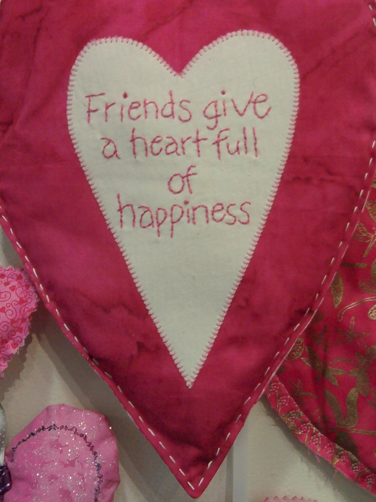 The hearts say it all !