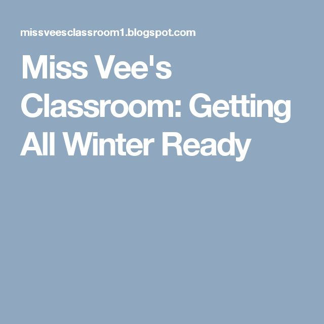 FOLLOW MY BLOG FOR TONS OF GREAT RESOURCES AND IDEAS :)  Miss Vee's Classroom: Getting All Winter Ready