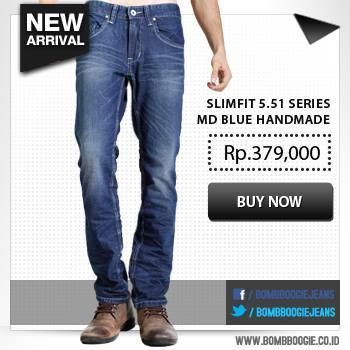 Grab this cool handmade jeans only on: www.bombboogie.co.id